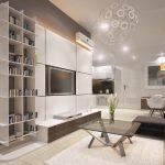 Cho thuê căn hộ Kingston Residence122m2 (3PN, 2WC)đầy đủ nội thất giá 34 triệu/ tháng