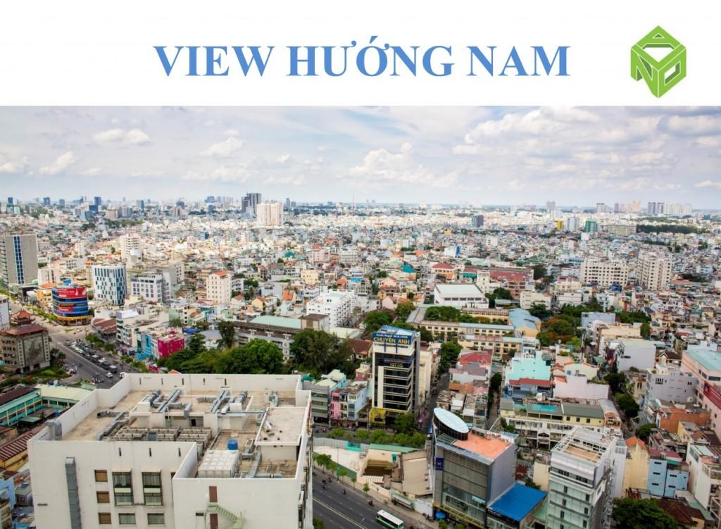 View hướng nam từ dự án Kingston
