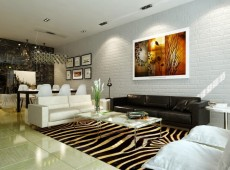 phòng khách căn hộ kingston