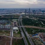 Flycam hình ảnh khu đô thị mới Thủ Thiêm đang dần được hình thành