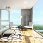 Bán gấp căn hộ 2PN Kingston Residence , 83M2, 2PN 2WC, Ban công dài, View Công Viên giá 4,5 tỷ
